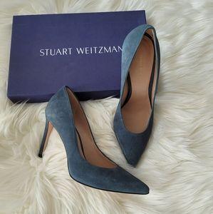 NEW Stuart Weitzman Legend Suede Pumps 36.5